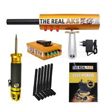 The Real AKS Metal Gold Detector Tool 6Antennas+Filter Carry Case for Silver Gem