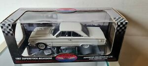 HIGHWAY 61 /DCP - 1967 PLYMOUTH SUPERSTOCK BELVEDERE 1:18 SCALE