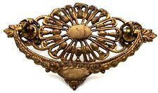 "@1875 Farmhouse Antique Hardware Brass Victorian Cabinet Drawer Pull 3"" center"