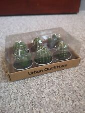 New Urban Outfitters Set of 6 Mini Cactus Tea Lighters Candles
