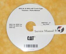 SEBP3827 Caterpillar D5G XL LGP Track Type Tractors Dozer Parts Manual Book CD.