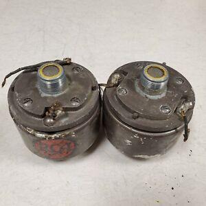 Pair vintage RCA horn speker driver