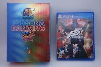 PS4 Persona Dancing Allstar Triple Pack & PERSONA 5 Japan import PlayStation4 P5