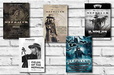 FIELDS OF THE NEPHILIM - SET OF 5 - A4 POSTER PRINTS # 1
