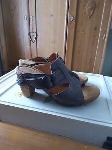 Gabor Tan Slip On Mules Size 3