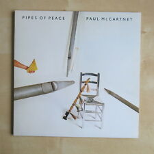 PAUL McCARTNEY Pipes Of Peace UK 1st press vinyl LP gatefold + inner Nr Mint