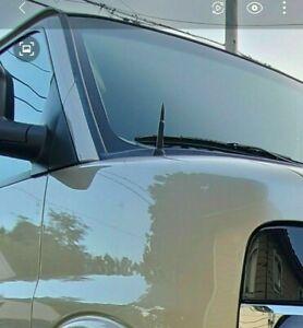 "31/"" Black Stainless AM FM Antenna Mast FITS 96-17 Chevrolet Express Van 4500"