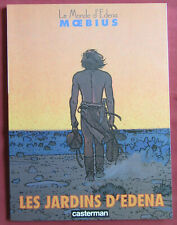 LE MONDE D'EDENA  BD EO  LES JARDINS D'EDENA  MOEBIUS  TTBE