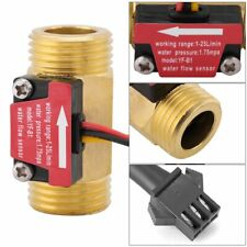 "G1/2"" 1/2 in Water Flow Sensor  Flowmeter DC 5V 1-25L/min YF-B1  Arduino"