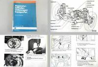 Reparaturleitfaden VW T3 Bus Bulli Syncro Fahrwerk Allrad Werkstatthandbuch