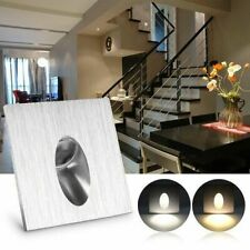 1-10x LED Staircase Light Wall Stair Night Recessed Stair Light Cool Warm White