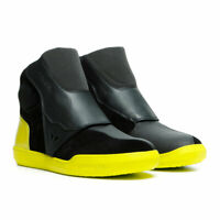 Dainese Dover Moto Motorcycle Bike Gore-Tex Boots Black / Fluo Yellow