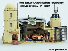 Lego Star Wars Mos Eisley Landspeeder Workshop Bauanleitung | instruction keine