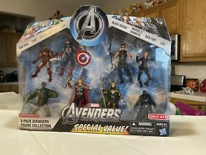 Marvel Avengers 8-Pack Figure Collection Target Exclusive In Box 3.75 L@@K READ