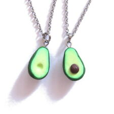 BFF Gifts For Best Friends Friendship Jewelry Green Avocado Pendant Necklace