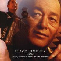 Flaco Jimenez - Flaco Jiménez/Bueno Suerte, Señorita (2018)  CD  NEW  SPEEDYPOST