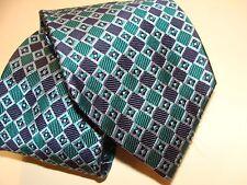 FACONNABLE Corbata Seda,, hecho a mano en Italia fabulosa. Nueva.