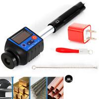 Digital Pen Leeb Portable Smart Durometer Hardness Tester NDT Testing 7 Standard