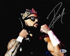 Ricochet Signed 8x10 Photo BAS COA New Japan Pro Wrestling PWG Picture Autograph