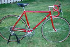 Raleigh Super Course Metallic Red Steel Brooks Bike Campagnolo Record 700c