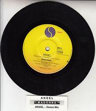 "MADONNA Angel  7"" 45 rpm vinyl record + juke box title strip"