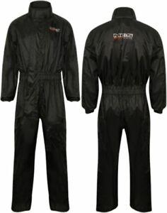 MBSmoto 1 piece Rain suit For motorcycle Motorbike Daily use in Black