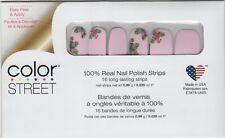 Color Street Nail Polish Strips Flamin-goals Pink Flamingo Designs USA Made
