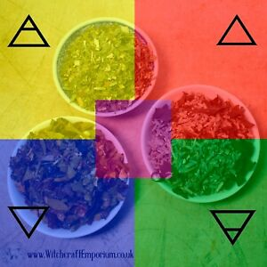 Magical Herbal Blend Spell Mix, Elemental Spell Blends | Witchcraft/Wicca/Pagan