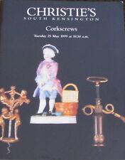 CHRISTIE'S Corkscrews – 5/25/1999 Thomas Lund Thomason Celestin Durand