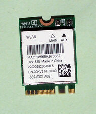Qualcomm QCNFA344A 802.11AC 876Mbps DW1820  Bluetooth 4.1 M.2 NGFF 0D4V21