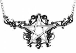 Alchemy England - Talismanik Necklace, Pentagram Gothic, Witch Pagan Wicca, Gift