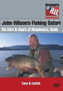 JOHN WILSON'S FISHING SAFARI- RIO EBRO & SEGRE SPAIN - CARP & CATFISH - NEW DVD