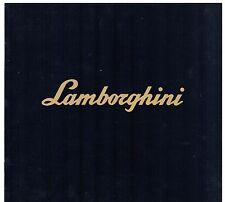 LAMBORGHINI COUNTACH 5000 Quattrovalvole 1985-86 UK Mercato Opuscolo multilingue