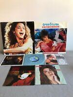 "GLORIA ESTEFAN / MIAMI SOUND MACHINE - 12"" & 7"" VINYL SINGLES / RECORDS"
