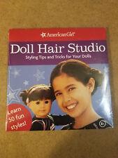 American Girl DOLL HAIR STUDIO DVD 2005 AmericanGirl #DRTVJ-10 Sealed