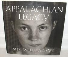 SIGNED Shelby Lee Adams Appalachian Legacy 80 photos 1st PB