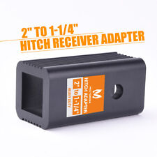 """2"""" Class III/IV to  1-1/4"""" Class I/II Receiver Hitch Adapter Insert Sleeve Mount"""