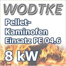 Pellet Kamineinsatz Wodtke PE Nova Einbaugerät Air 8 KW inkl. S4 Art. Nr.053010
