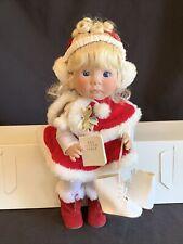 Lee Middleton Original Doll 1992 Little Christmas Angel 14� Signed 3897/5000