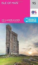 Landranger (95) Isle of Man (OS Landranger Map) by Ordnance Survey, NEW Book, FR