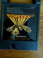 1978 ODYSSEY 2 BY MAGNAVOX GAME CARTRIGE SPEEDWAY SPIN OUT CRYPTO-LOGIC UNTESTED