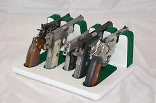 Pistol 5 Gun Rack Stand 501S White Green Cabinet Safe