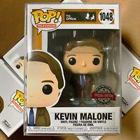 """Funko Pop The Office : KEVIN MALONE #1048 Vinyl w/0.5mm case """"MINT"""""""