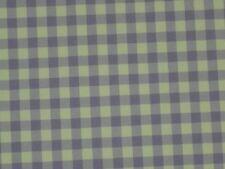 """Gingham plaid purple nylon lycra fabric 4w stretch designer By the yard  x 50"""""""