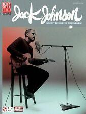 Jack Johnson Sleep Through The Static Learn to Play Guitar TAB Music Book