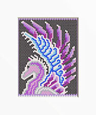 Winged Pegasus Beaded Banner Pdf Pattern Only