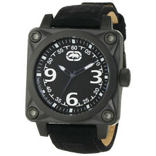 Marc Ecko The Armor Black Canvas Mens Watch E12598G1 New! Low Inter Priority !!