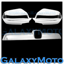 07-11 HONDA CRV Triple Chrome Plated Mirror+Tailgate Liftgate Rear Handle Accent