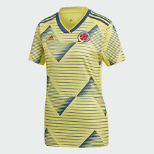 Colombia Home Soccer adidas Light Yellow Climalite Jersey Women's Size(2XL)