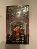 1988 Black Wizards by Douglas Niles TSR 1st Printing Paperback
